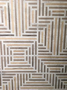 Mixed media and impossible material combinations - Tile Trends 2020 - Diary of a Tile Addict Wooden Floor Tiles, Wood Look Tile, Mandarin Stone, Wood Effect Tiles, Coloured Grout, Inside Art, Arrow Pattern, Visual Texture, Circular Pattern