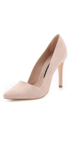 alice + olivia Dina Suede Pumps | SHOPBOP