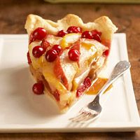 Pears and cranberries are quintessential fall fruits. And pie is the perfect way to combine the tart berries with the soft, juicy sweetness of the fleshy pear.
