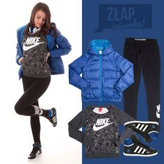 Złap zajawkę! #nike #adidas #skullcandy Adidas Jacket, Athletic, Nike, Jackets, Fashion, Down Jackets, Moda, Athlete, Fashion Styles