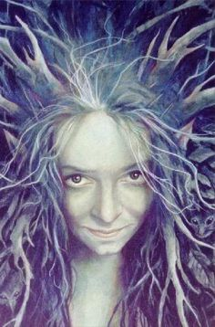 Wood Woman from Good faeries Bad faeries, by Brian Froud