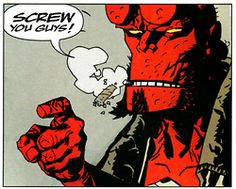 Favourite comic characters ever: Hellboy