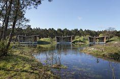 Gallery of Eco-lodges_les Echasses / Patrick Arotcharen Architecte - 9
