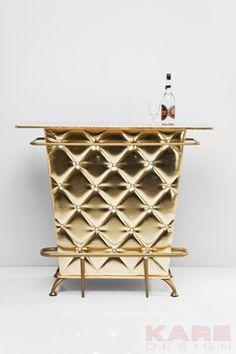 Bar Lady Rock Gold by KARE Design #gold #bar #glamour #blingbling #glitter #diamonds #sparkle #KARE #KAREDesign