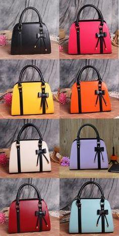 f6422793d971 Womens Cute Bow Ribbon Casual Handbag Trendy Handbags