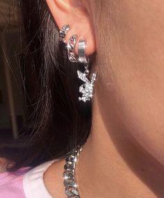 Source by piercing Jewelry Tattoo, Ear Jewelry, Cute Jewelry, Jewelry Accessories, Fashion Accessories, Body Jewelry, Jewelry Art, Cute Ear Piercings, Tongue Piercings