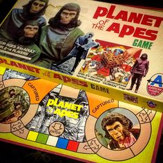 If you've ever considered adding Planet of the Apes memorabilia to your collection, we've built the roadmap to get you started Retro Toys, Vintage Toys, Old Board Games, Brain Dump, Planet Of The Apes, Old Toys, Alter, Pop Culture, Planets