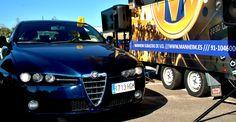 Uno de los vehículos de ocasión subastados en la Subasta Móvil LeasePlan de Sevilla del 21 de Octubre de 2015. Organizada por Manheim España