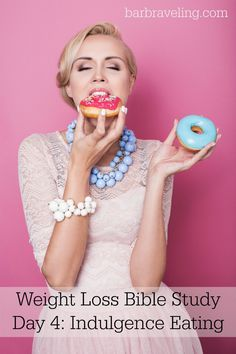 Do you have a hard time losing weight because you want to eat what you want when you want? If so, this free Bible study will help!