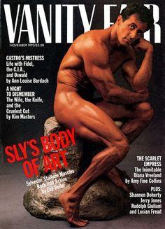 Sylvester Stallone by Annie Leibovitz for Vanity Fair November 1993
