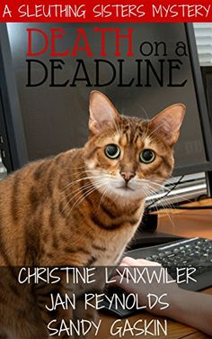28 best mystery using animals ku images on pinterest cozy death on a deadline sleuthing sisters mysteries book 1 by lynxwiler christine fandeluxe Choice Image