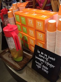 T2- Lemongrass and Ginger plus Turkish Tisane iced tea