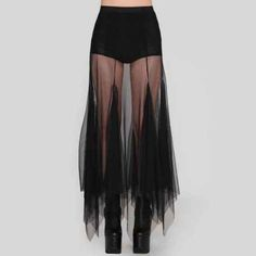 Sheer skirts are everything~