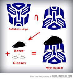 Autobots to Mythbusters  Optimus Hyneman