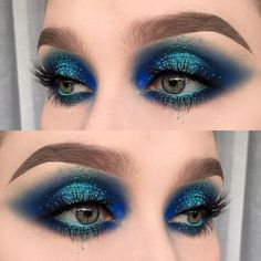 Halo Eye Makeup Is Angelic I love all the different shades. It's so beautiful. Halo Eye Makeup, Makeup Geek, Makeup Inspo, Makeup Art, Makeup Inspiration, Makeup Tips, Beauty Makeup, Hair Makeup, Makeup Eyebrows