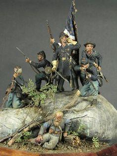 Little Round Top diorama