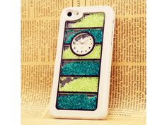 Green Crystal Case For iPhone 5