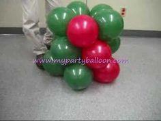 arvores de natal com bolas