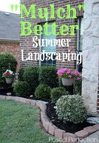 Summer Landscaping with Mulch Tutorial !