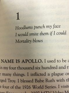 TRIALS OF APOLLO