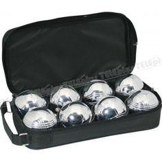 Metal Bocce Set 8Li - 1 adet pallino topu ve 8 adet 7 cm çapında nikelaj kaplama bocce topundan oluşan imperteks çantasında   1 adet bocce takımı.  - Price : TL81.00. Buy now at http://www.teleplus.com.tr/index.php/metal-bocce-set-8li.html