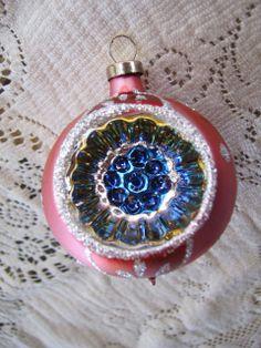 Vintage Pink Blue Gold Silver Glitter Indented by vinetownvintage, $14.95