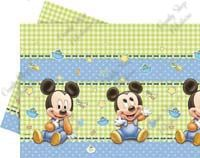Baby Mickey Busta 1pz Mickey Mouse Table, Baby Mickey Mouse, Plastic Babies, Table Covers, Toy Chest, Kids Rugs, Kid Friendly Rugs, Table Clothes, Table Linens