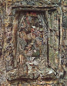 Photo of The Window by Ivan Albright.