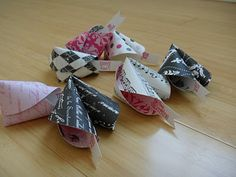 Valentines Day fortune cookies