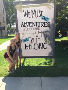 This was our chapters bid day sign!!! So cute:)