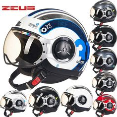 99.09$  Watch now - http://ali71h.worldwells.pw/go.php?t=32616157307 - 2016 New Taiwan ZEUS Half Face Motorcycle Helmet electric bicycle motorbike helmets made of ABS Four Seasons 218C Men/women 99.09$