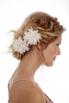 Tocados Hebilla para novias flores