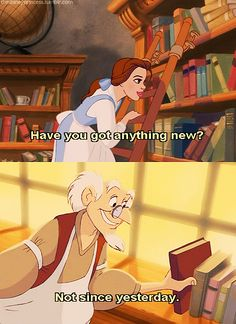 The sad part is this is how I feel when I walk into the bookstore sometimes :)