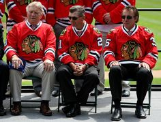 Stan Mikita Photos Photos: Chicago Blackhawks to Host Winter Classic at Wrigley Field Bears Football, Blackhawks Hockey, Chicago Blackhawks, Chicago Bears, 70th Birthday, Birthday Games, Bobby Hull, St Catharines, First Period