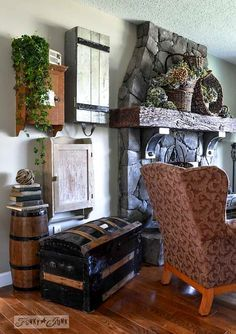 Rustic storage office - Google Search