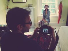 Get a peek at our photoshoot for pre-fall lingerie lookbook behind the scenes in High Falls NY in a historic hudson valley home.
