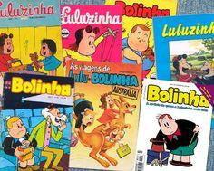 Revistas do Bolinha e da Luluzinha    http://pt.wikipedia.org/wiki/Lista_de_personagens_de_Luluzinha