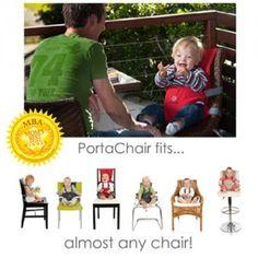 BambinOz PortaChair - Make any chair a high chair!