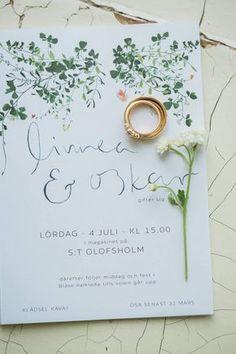 Las invitaciones son la carta de presentación de tu boda. No las elijas al azar, inspírate en esta idea #wedding #invitaciones