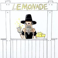 @Aaron Favaloro: So Beyoncé has a new job :)) Aaron Favaloro Illustration