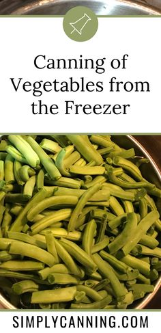 How to can vegetables in a mix of your choice. Learn the appropriate way to combine different vegetables in home canning #SimplyCanning #HowtoCanVegetables #Canning #CanningQuickTips Canning Tips, Home Canning, Canning Recipes, Can Green Beans, Canning Vegetables, Usda Food, Different Vegetables, Pressure Canning, Home Food