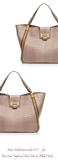 Tom Ford 'Sedgwick Med. Tote In Blush Nude'