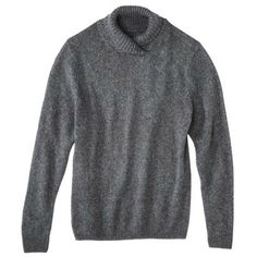 3.1 Phillip Lim for Target® Men's Mock Neck Sweater - Charcoal Gray