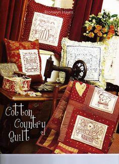 Cotton Country Quilt - YOYO - Álbuns da web do Picasa