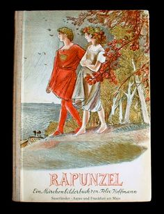 "1960's edition of ""Rapunzel"" illustrated by Felix Hoffman"