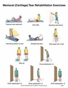 Los ejercicios de la hernia intervertebral después de la operación