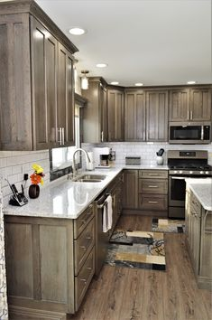 33 best kitchens gray images in 2019 wood species gray kitchens rh pinterest com