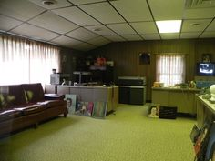 inside Graceland the office