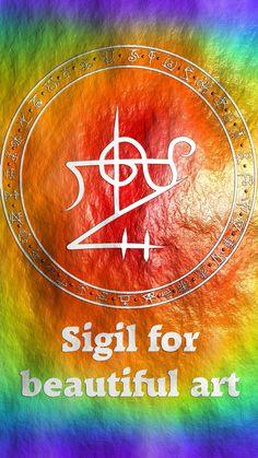 Sigil for beautiful art