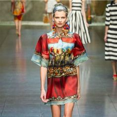 Wholesale Silk Mini Dress - Buy 2013 High Quality Women Runway Fashion Warriors Canvas Digital Print Elegant Lady Casual Loose Silk Mini Dress, $117.28 | DHgate